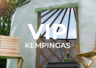 VIP Kempingas.